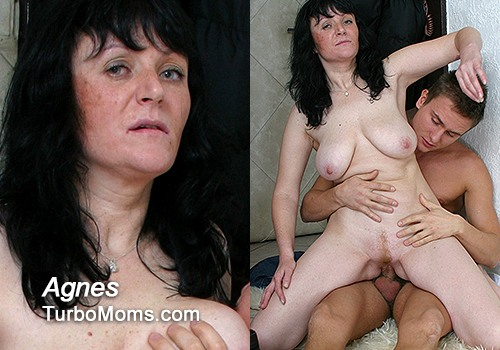 Another czech big natural tits milf Agnes