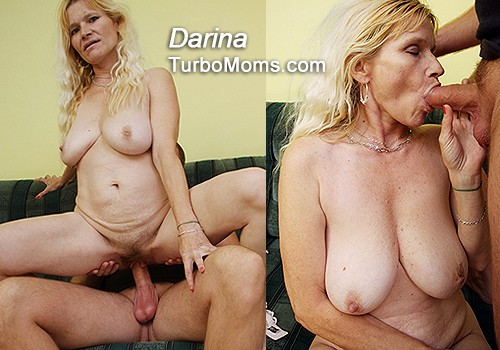Czech milf got big natural tits and hairy pussy